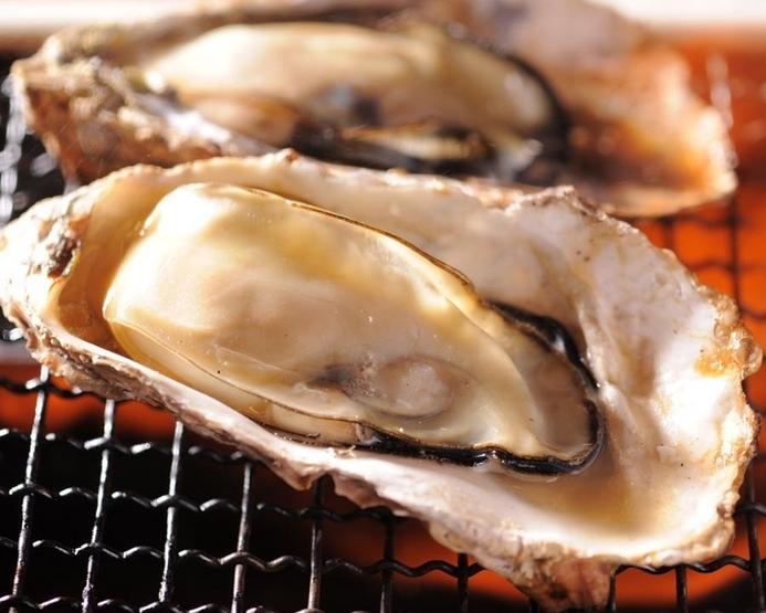 厚岸の焼き牡蠣